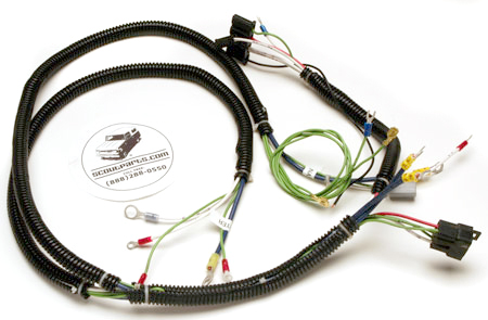 Scout 800B Engine Wiring Harness  1971