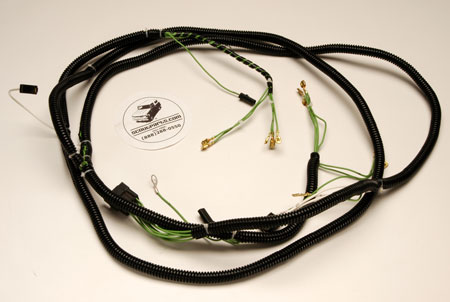 Scout 800A Headlight/engine Wiring Harness 1969 To 1970 .