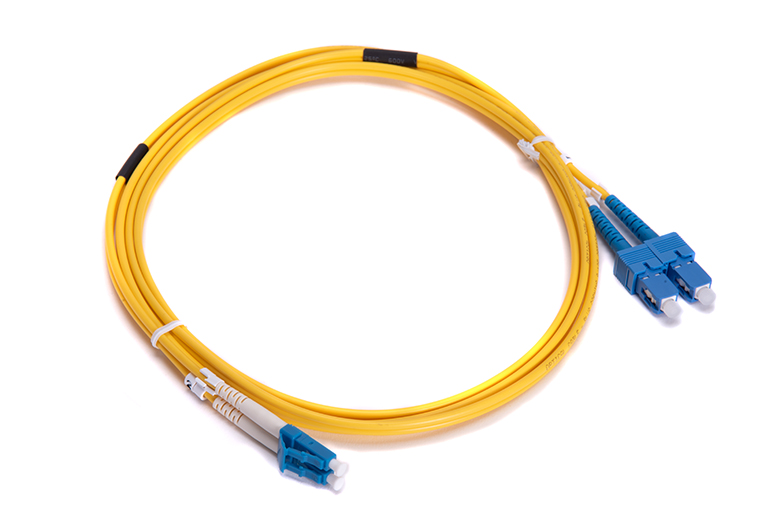 Fiber Optic Cable Double Cable 2 Meters Long