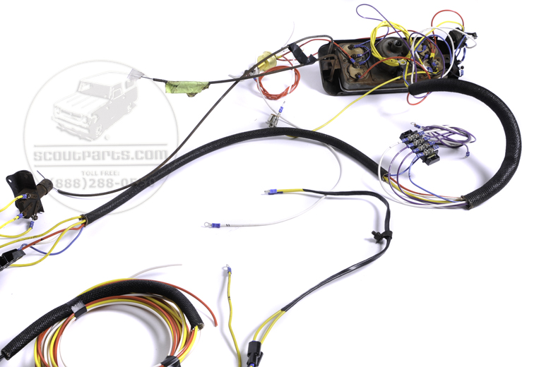 Harness Wiring - Complete For International 1937 D-2 Truck