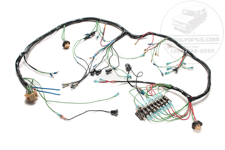 Harness - Main Under Dash Wiring  For 1961-1965 266 & 304 V-8