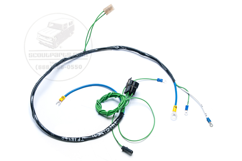Harness - Starter And Fuel Level Gauge Wiring