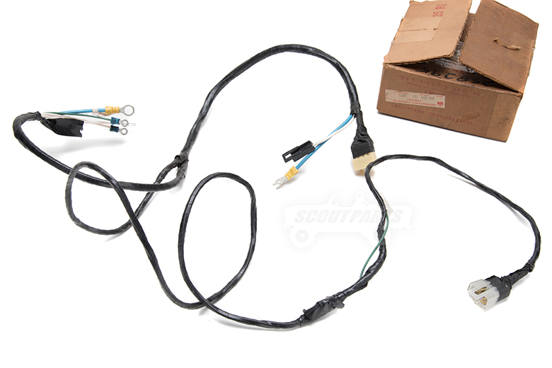 Harness Starting Control  61-68 - New