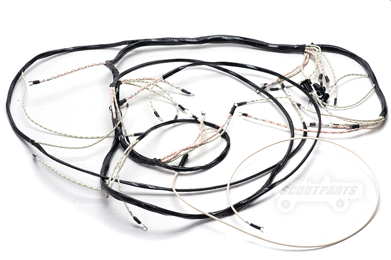 Harness - Main Under Dash Wiring  For 55-53 - R-Series