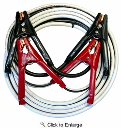 30 foot 4 AWG Battery Booster / Jumper Cables 1 set