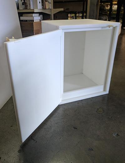 Acid Cabinet SciMatCo Model 5010 Plast-a-cab NEW in box